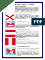 Historia de La Bandera Del Perú