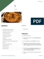 CHUPE DE POLLO | Recetario Thermomix