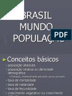 Brasil Populacao