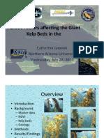 Abiotic Factors of Giant Kelp Beds (Final)