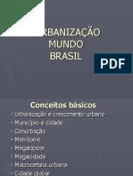 Brasil Urbanizac3a7ao
