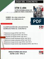 Ventura Astm C-494 Aditivos
