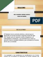 Diapositivas de Realismo- Isabel Diaz- Alejandra Cardenas- Generos Litersrios