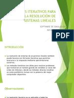 Métodos Iterativos Para La Resolución de Sistemas Lineales