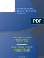 1. Kebijakan Sistem Informasi Kesehatan