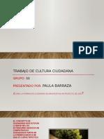 Foro Formación Ciudadana Unidad 3