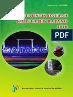 Statistik Daerah Kabupaten Batang 2016
