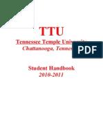 Student Handbook 2010-2011