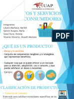 Productos y Servicios Para Consumidores