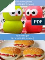 081-555-299-68 (Indosat) Jual Mainan Anak Squishy DKI Jakarta