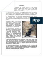 ESCULTURA - informe