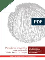 Periodismo preventivo y cobertura de situaciones de riesgo