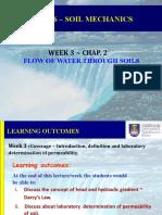 ECG426 - Week 3 - I - Permeability