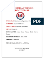 Informe Malla Tierra