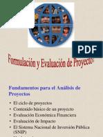 Form y Eval Proy de Inversión Etapas