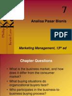 Ch 07 Analisa Pasar Bisnis