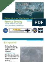 Detection of Methane Using Remote Sensing