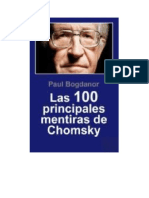 Bogdanor Paul - Las 100 Principales Mentiras de Chomsky