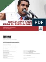 Presupuesto Soberano 2017