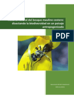 Historia Natural Del Bosque Maulino Cost