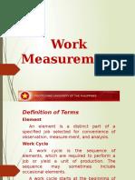 Work Measurement 2