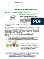 The Value of Partnering With CHA-International