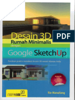 1991_Desain 3D Rumah Minimalis Dengan Google SketchUp