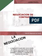 Negociacion de Contratos