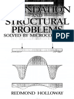 Foundation and Structural Problems Solved by Microcomputer - Holloway