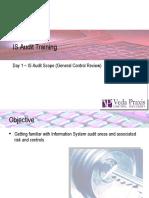 IT Audit Training - Day 1 is Scope GenCon v.1