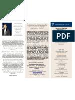 Rahul Manchanda Law Offices Brochure