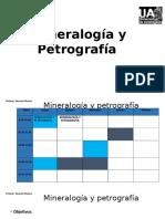Clase 1 mineralogía
