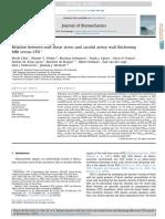 10.1016 j.jbiomech.2016.02.004 Relation Between Wall Shear Stress and Carotid Artery Wall Thickening MRI Versus CFD(1)