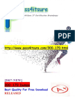New Pass4itsure Microsoft 300-170 PDF - DCVAI Implementing Cisco Data Center Virtualization and Automation (DCVAI)