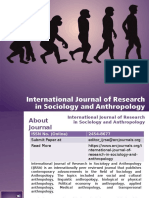 International Journal of Research in Sociology and Anthropology - ARC Journals