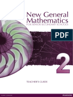 New General Mathematics for Secondary Schools 2 TG Full PDF