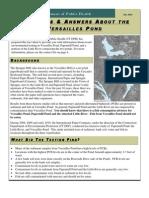 Versailles Pond Fact Sheet Final