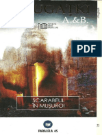 A.& B. Strugatki - [Trilogia progresorilor] 02 Scarabeul in musuroi #1.0.epub
