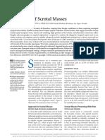 Scrotal Masses