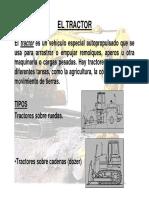 Tema 05 El Tractor