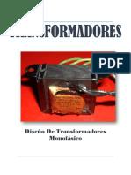 Informe Del Diseño Del Tranformador