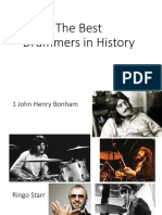 Drums history