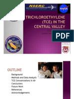 Ninoshka Trichloroethene (TCE) in the Central Valley