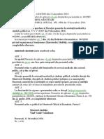 ORDIN Nr 1410 Din 2016 Norme de Aplicare Legea Pacientului