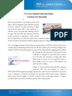 Input Tax Credit Mechanism Under GST Regime
