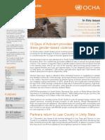 OCHA SouthSudan Humanitarian Bulletin 1Dec2015