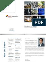 Made in Romania Foreign Investors Guide 2016 InvestRomania