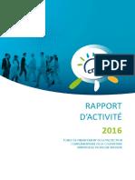 Rapport Activité 2016 Fonds CMU