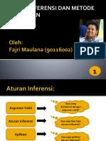 Fajri - Aturan Inferensi dan Metode Pembuktian