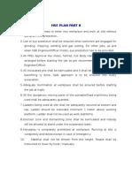HSE Plan part 8